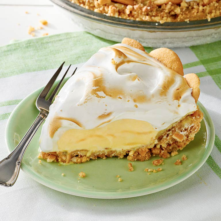 Lemon Meringue Ice-Cream Pie