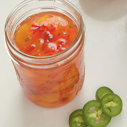Peach-Pepper Preserves