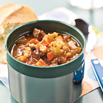 Barley and Beef Soup