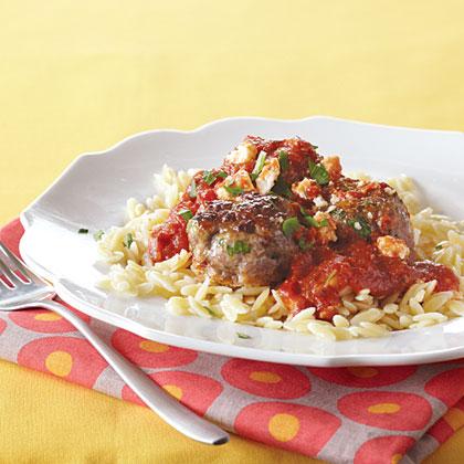 Greek Pasta with Meatballs