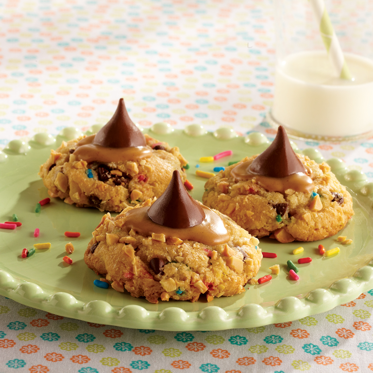 Funfetti ® Peanut Butter and Chocolate Cookies