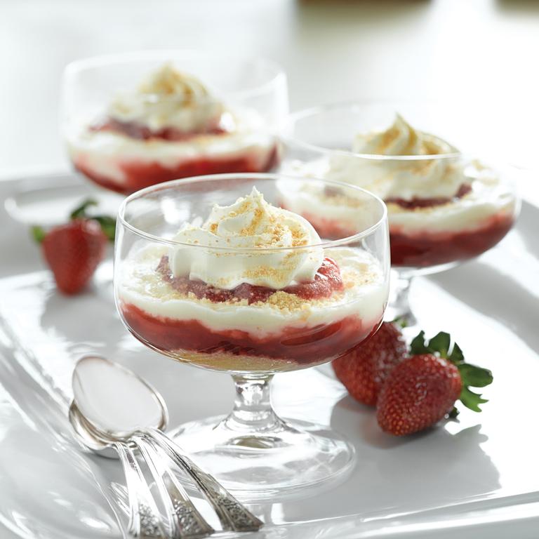 Strawberry Cheesecake Parfaits