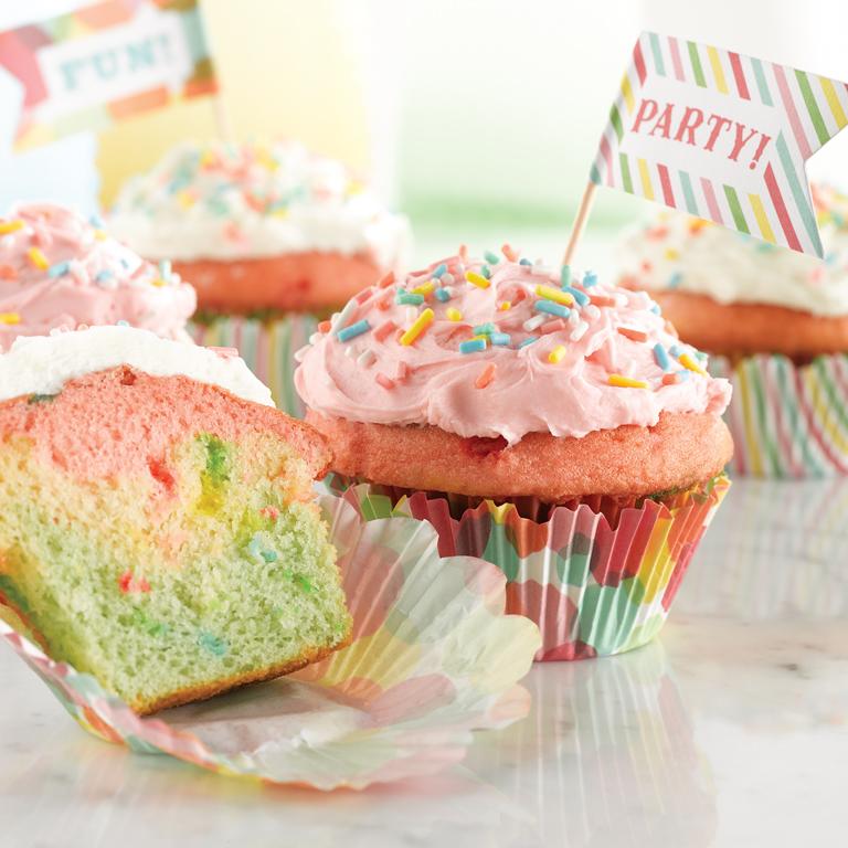 Funfetti ® Color Me Cupcakes