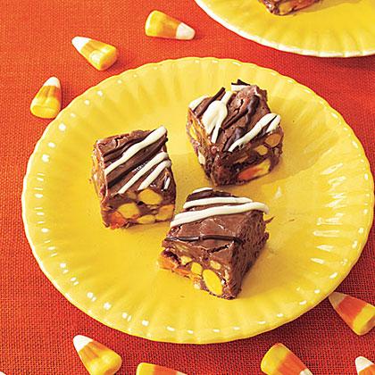 Candy Corn Fudge