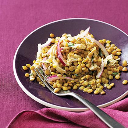 Chicken and Lentil Salad