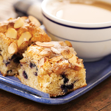 Blueberry and White Chocolate Chip Coffee Cake