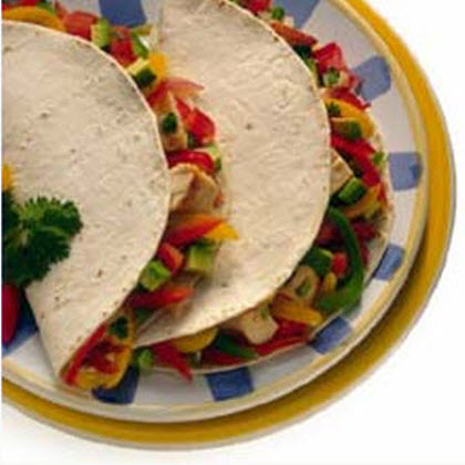 Chicken Fajitas with Mexican Rice - Family Meal