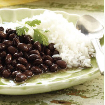 Classic Black Beans and Rice (Reduced Sodium)