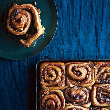 Spiced Cinnamon Rolls with Maple Glaze
