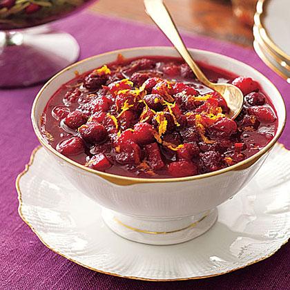 Mulled-Cider Cranberry Sauce