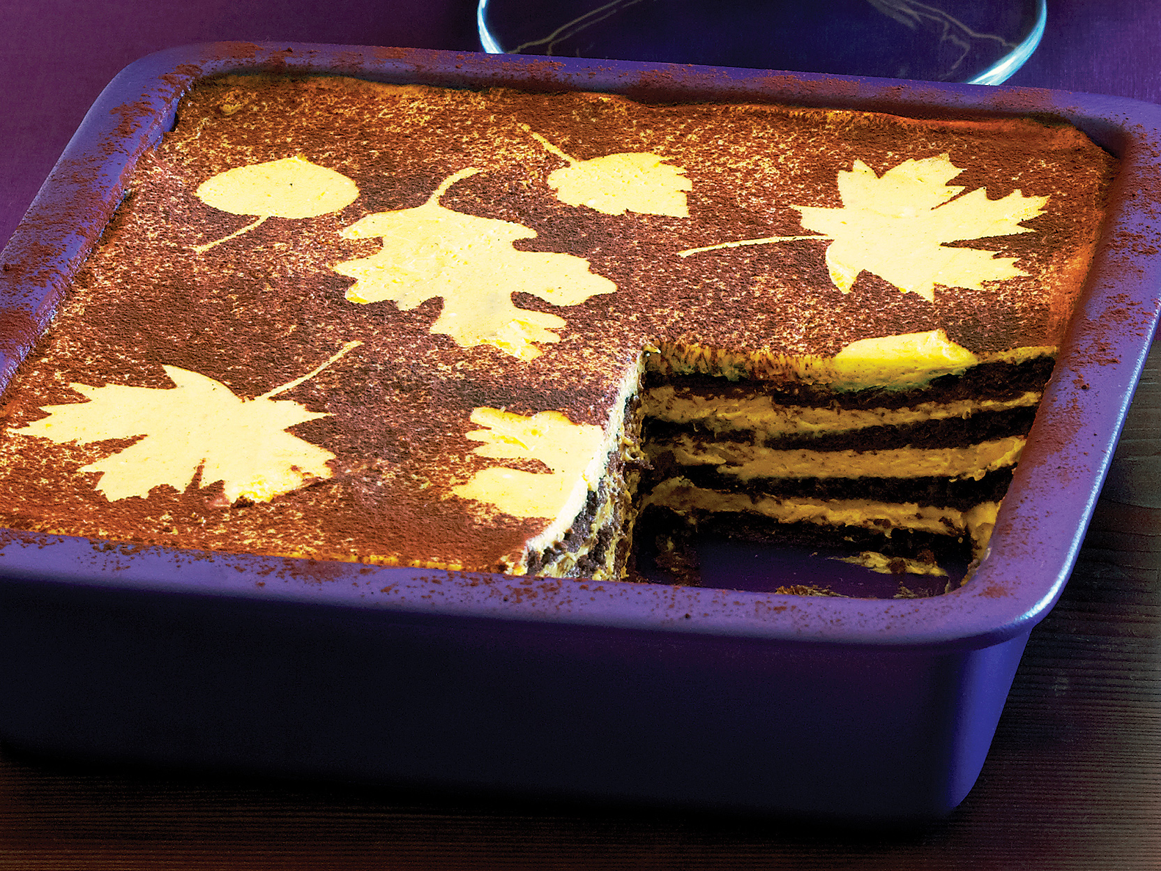 No-Cook Pumpkin Chocolate Icebox Cake