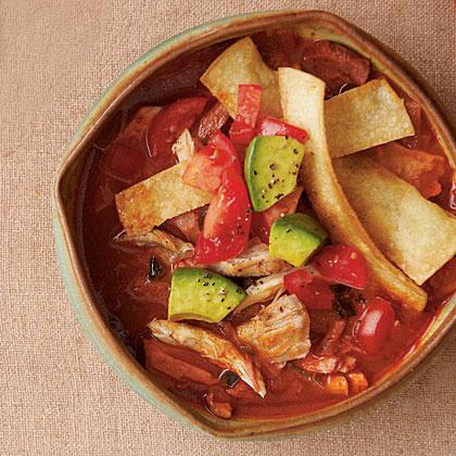 Tortilla Turkey Soup