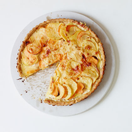 Two-Potato Tart Gratin
