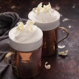 Vanilla and White Chocolate Cocoa