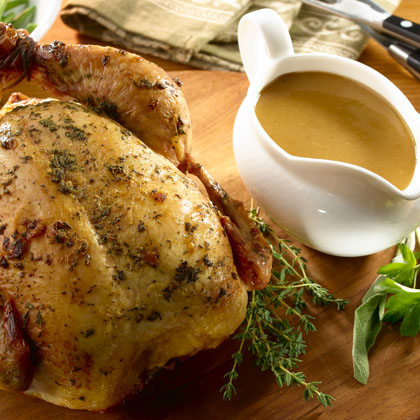 Herb Roasted Chicken & Gravy