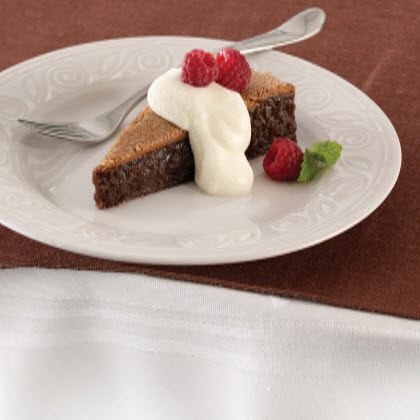 Flourless Chocolate Cake with Chocolate Mousse