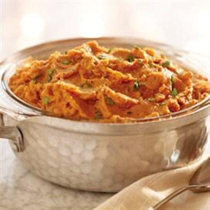 Savory Whipped Sweet Potato Casserole