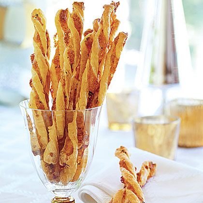 Cheddar-Herb Twists