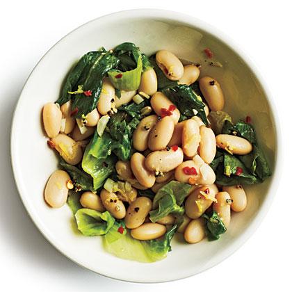 Escarole & Bean Sauté