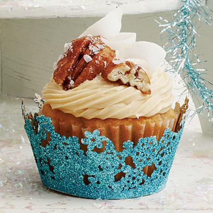 Coconut-Pecan Cupcakes
