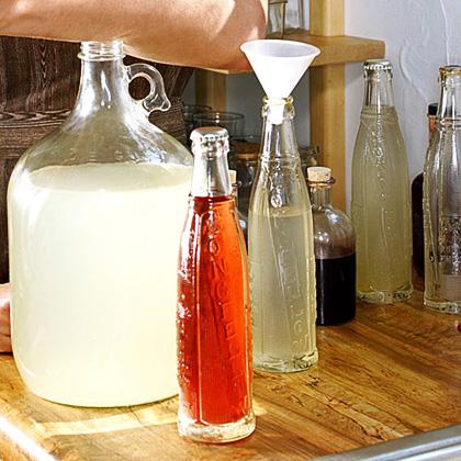 Bottled Citrus Lemongrass Soda