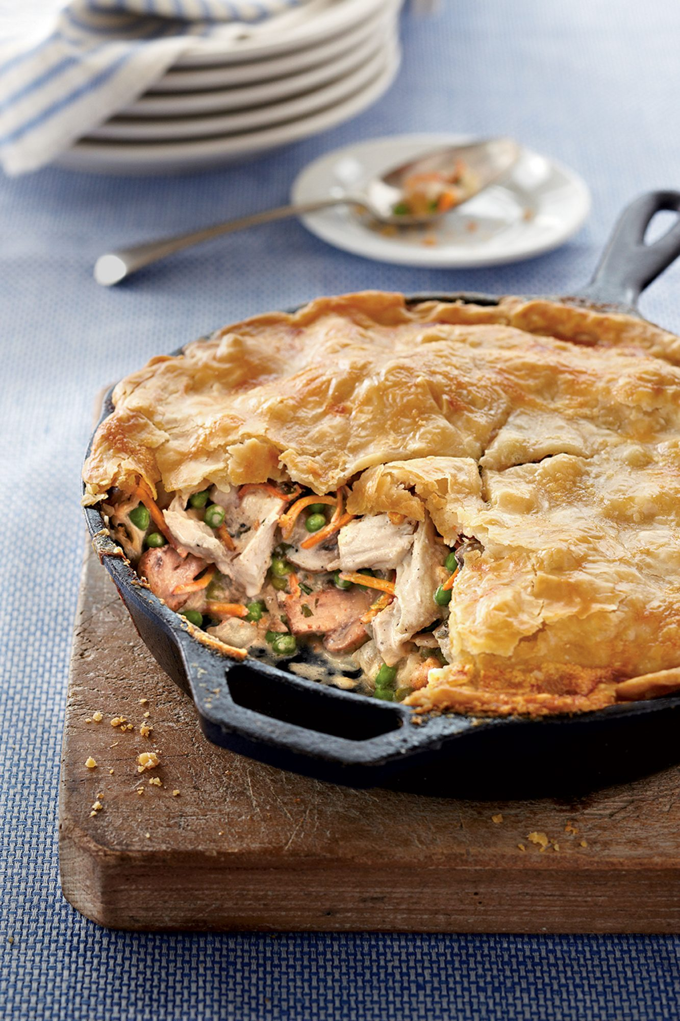 Skillet Chicken Pot Pie new