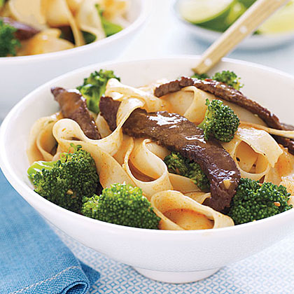 Stir-Fried Beef with Noodles
