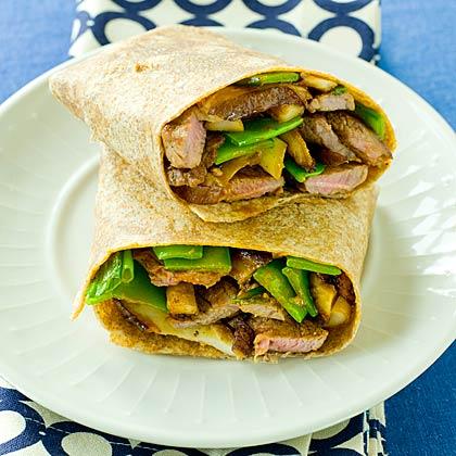 Teriyaki Steak Sandwich