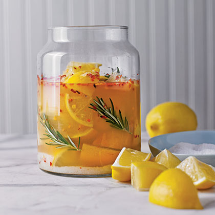 Preserved Lemons with Rosemary