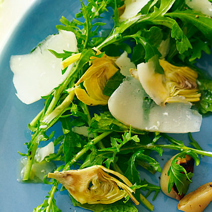 Artichokes with Mint and Lemon