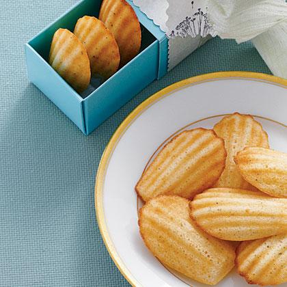 Cornbread Madeleines