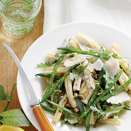 Green Bean Pasta Salad with Lemon-Thyme Vinaigrette