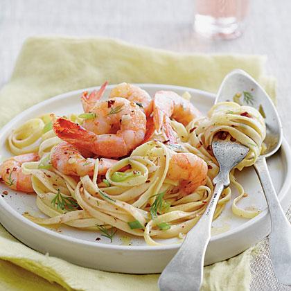 Shrimp Destin Linguine