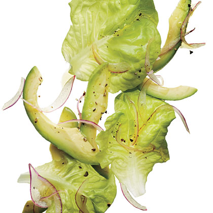 Avocado-Butter Lettuce Salad