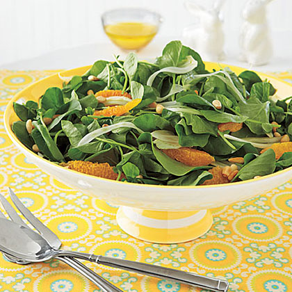 Orange, Fennel and Watercress Salad