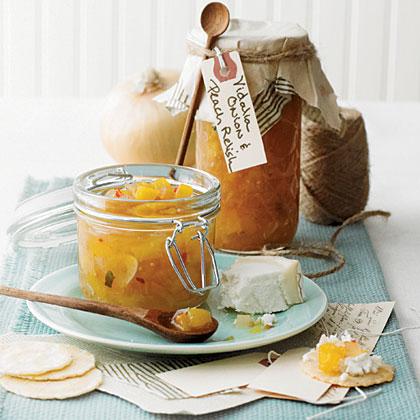 Vidalia Onion and Peach Relish
