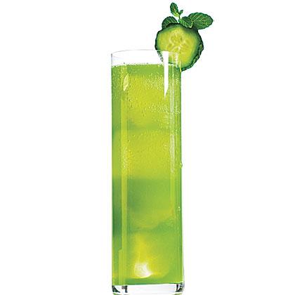 Cucumber-Mint Tequila Tonic