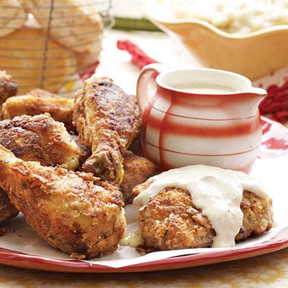Fried Chicken and Milk Gravy