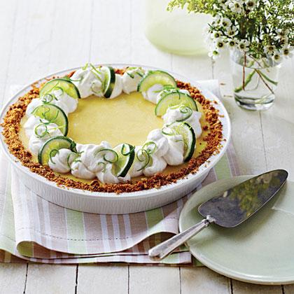 Praline Key Lime Pie