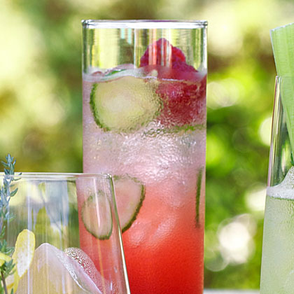 Italian Raspberry Cocktail
