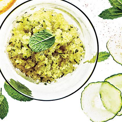Cucumber-Lime Granita