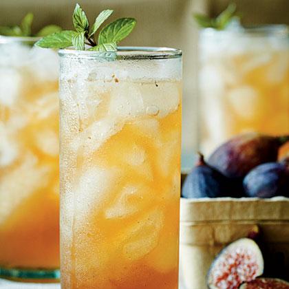 Fig-and-Bourbon Fizz