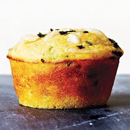 Parmesan Corn Muffins