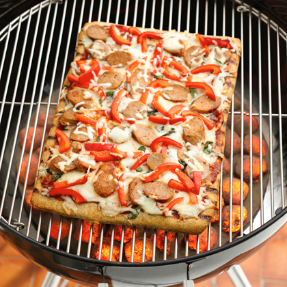 Pillsbury® Grilled Sausage & Pepper Pizza