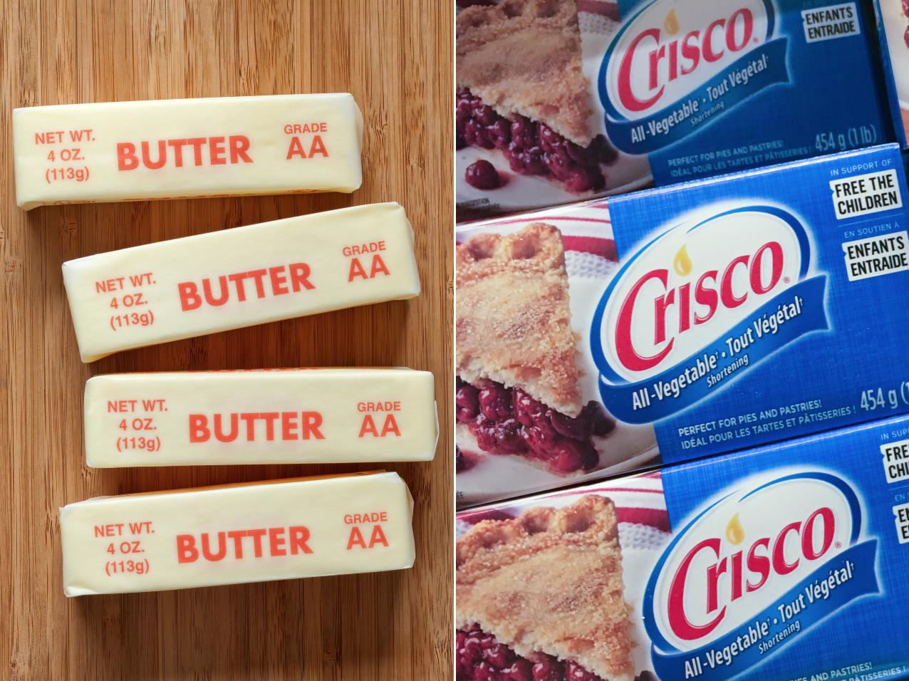 Butter vs. Shortening