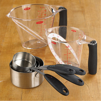 Essential Kitchen Tools Measuring Cups