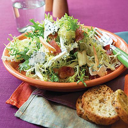 Frisée, Apple and Bacon Salad