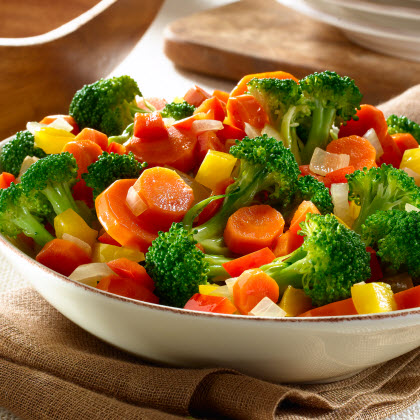 Mixed Vegetable Sauté