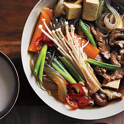 Bulgogi Jungol (Korean Bulgogi Soup)