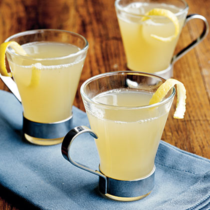 Ginger-Lemon Hot Toddies